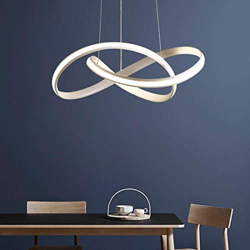 WWFF LED Pendelleuchte Moderne Einfache Hängelampe Kronleuchter Kreative Metallkunst Anhänger Indoor Dekorative Decke Hängen Leuchte Tisch Esszimmer Schlafzimmer Bar Warm Dekorieren Sie Ihr Zuhause -