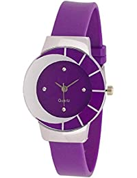Exotica Purple Color Moon Watch For Girls | Suitable For Casual Wear | Party Wear | Fashion Wear | For Girls &...