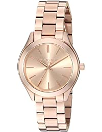 Michael Kors Analog Rose Gold Dial Women's Watch-MK3513