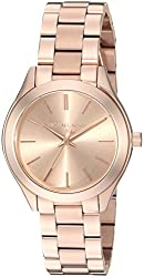 Michael Kors Analog Rose Gold Dial Womens Watch-MK3513