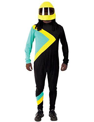 Smile Bob Team Kostüm Karneval Fasching Herren Verkleidung Mottoparty Extra (Herren Kostüme Running)
