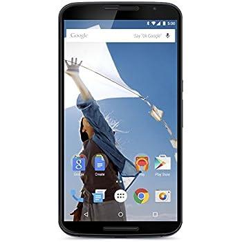 Motorola Nexus 6 Smartphone débloqué 4G (Ecran: 6 pouces - 32 Go - Nano SIM - Android 6.0 Marshmallow) Bleu