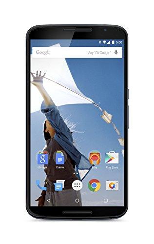 Motorola Nexus 6 Smartphone, Display 6 Pollici Quad-HD, Processore 2,7 GHz Quad-Core Snapdragon 805, Memoria 32GB, Android 5.0 Lollipop, Blu [Francia]