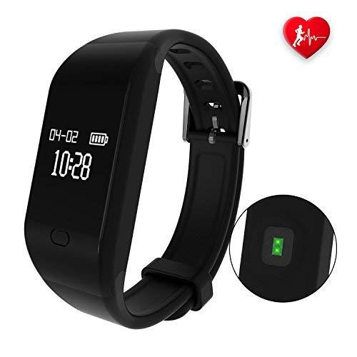 Fitpolo-Fitness-Uhr-Smartwatch-Kinder-Wasserdicht-Farbbildschirm-Facebook-SMS-Reminder-Fitness-Armband-Pulsmesser-Armband-Schlaf-AktivittstrackerSchrittzhler-Uhr-fr-Damen-Herren2019-Neuste