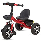 Baybee Coaster Baby Tricycle for Kids/Baby Trike with Storage Basket Suitable for Boys