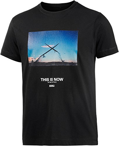 Ezekiel Herren Printshirt schwarz L