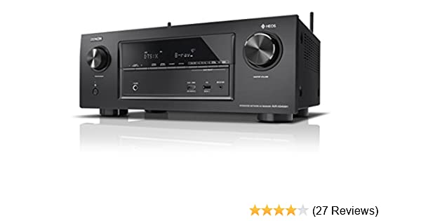 Denon avrx h surround av receiver schwarz amazon