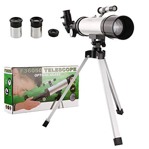 CX TECH Telescopio astronómico para niños