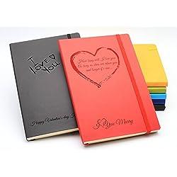 Personalisiertes Notizbuch Valentinstag Muttertag Vatertag Geburtstag Geschenk