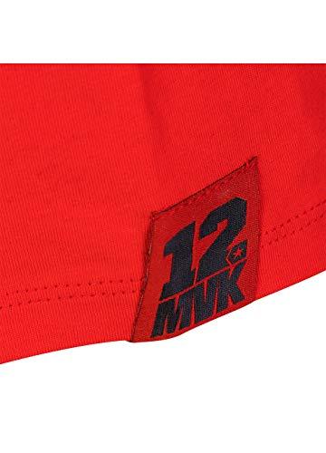 Grigio Valentino Rossi Maverick Vinales 8//9 Full Zip Hoodie Unisex Bambini