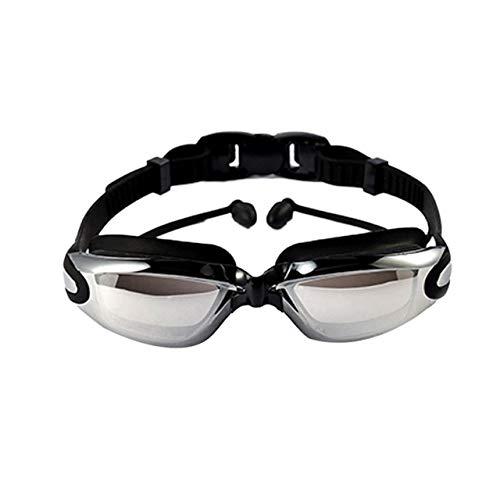 Kühlste Wassersport wasserdicht Anti Fog Schwimmbrille großen Rahmen mit Silikon Ohrstöpsel Schwimmbrille Brillen
