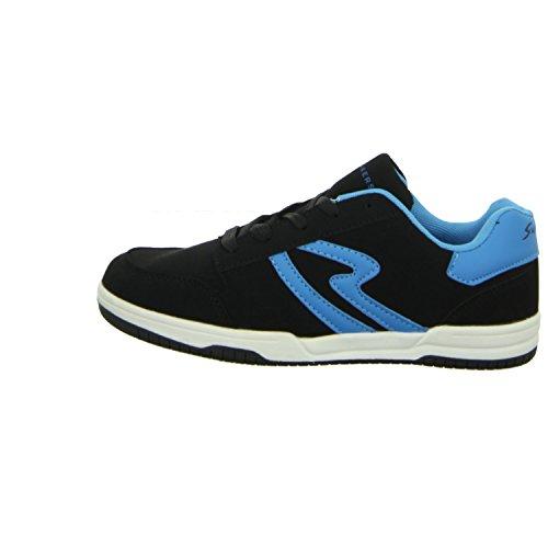 Sneakers BNH3082 Jungen Schnürhalbschuh sportlicher Boden Schwarz (Schwarz)