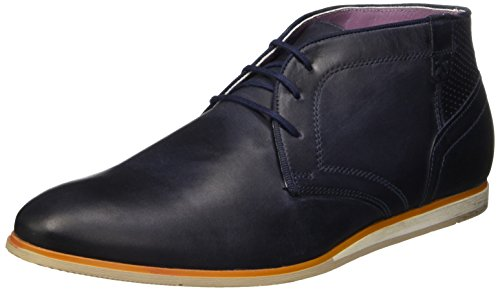 bkr B981 Cow30, Chaussures lacées homme Bleu (Cow Navy)
