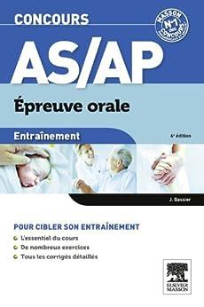 Entraînement Concours AS/AP épreuve orale par [Gassier, Jacqueline]