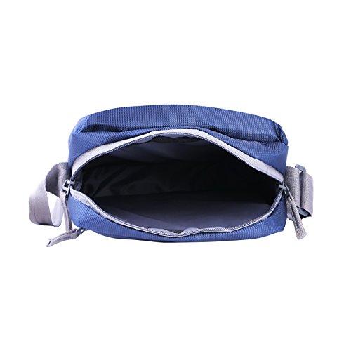 Vanwalk Navy Blue Men, Boys, Women, Girls Casual Nylon Unisex Sling Bag