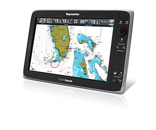 Raymarine E70025-CROW E-Serie E165 Hybrid Touch Multifunktionsdisplay mit C-MAP Row Essentials Karte 39,1 cm (15,4 Zoll) -