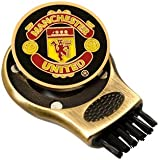 Manchester United Gruve Golf Cleaning Brush - Brass