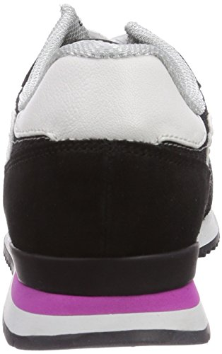 Tamaris 23605, Baskets Basses femme Mehrfarbig (Black Comb 098)