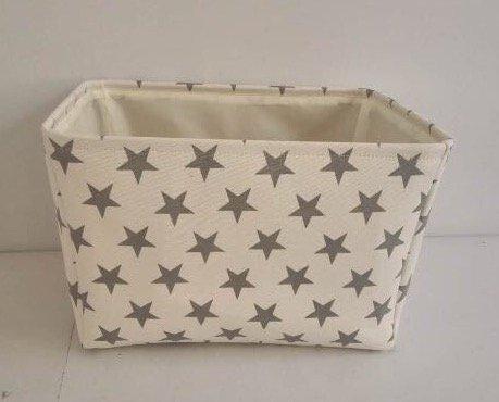 crema-star-tela-cesto-portaoggetti-alta-qualita-cestino-per-uso-domestico-con-stelle-grigie-40-cms-x