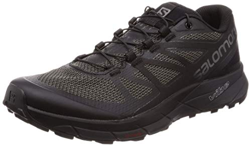 buy popular 78eb9 deab6 Salomon Sense Ride Zapatillas de Trail Running Black