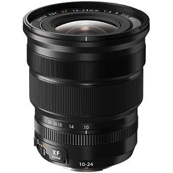 Fujifilm XF - Objetivo (distancia focal 10-24 mm, estabilizador de imagen) negro