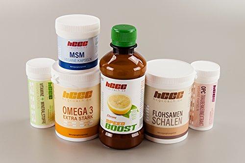 hCG Diät / Stoffwechselkur 30 Tage Basisversorgung in Spitzenqualität (SpeedBoost Zitrone)