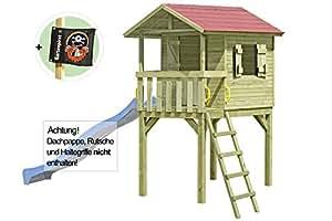 Palafitta casa sull 39 albero casa di giochi in legno justin giochi e giocattoli - Casa sull albero da costruire ...