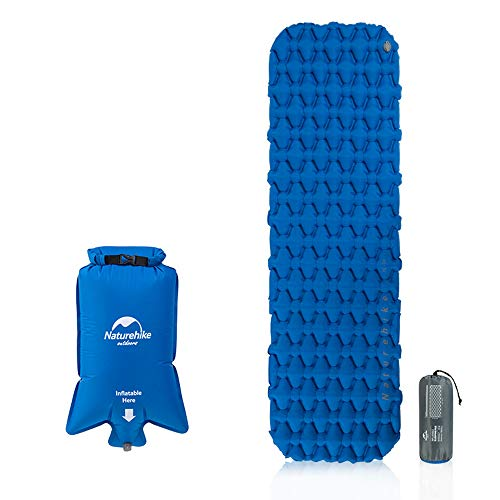 SHSYDZ Camping Sleep Pad Best Sleeping Pads for Backpacking, Hiking Air Mattress - Lightweight, Inflatable & Compact, Camp Sleep Pad -