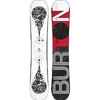 Burton snowboard para hombre proceso del eje, White Black Red