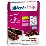 biManán Línea Pack Batonnets - 6 x 31 gr Chocolate Fondant