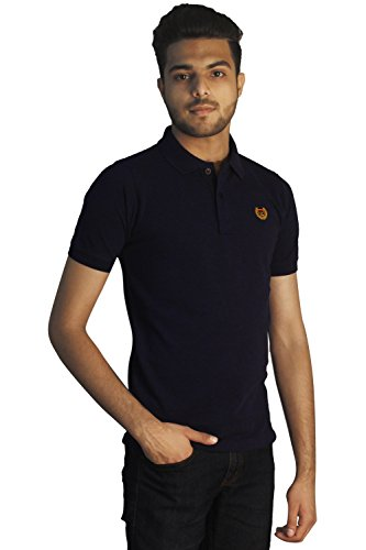 Tapasya Navy Blue Polo T-Shirt