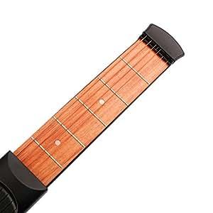 Guitare De Poche 4 et 6 Frette Gadget Outil Cordes Pratique Pour Débutants Pratique - 6 Frettes