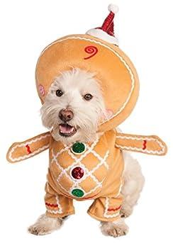 RUBIS fantaisie Marche Homme Pain d'épices pour animal domestique Costume, petite