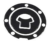 Moto applique & Sticker 1pcs Sticker Protector in fibra di carbonio Paraserbatoio Tankpad for il motociclo universale