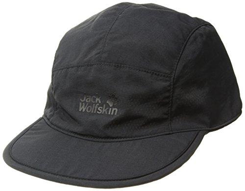 Jack Wolfskin Unisex Supplex Road Trip Casquettes Kappe, (Black), (Herstellergröße: One Size 56-61CM)