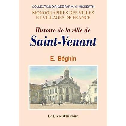 Saint-Venant (Histoire de la Ville de)