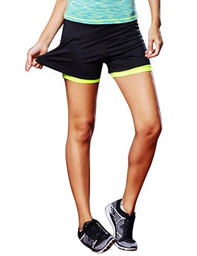 jimmy-design-damen-fitness-shorts-sommer-shorts-grun-xxl