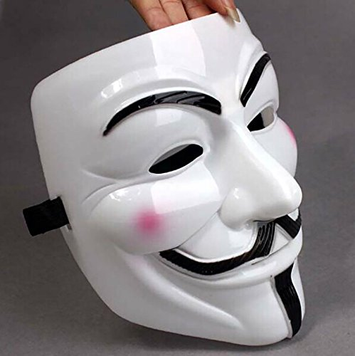 V for Vendetta Mask Erwachsene/Kinder Sumitomo Cnmg Fawkes Maske Anonymous Maske V for Vendetta Gesichts Maske (V For Vendetta Kostüm Kinder)