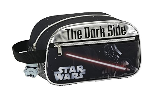 Safta Star Wars Neceser 1 Asa Adaptable, 26 x 15 cm, Color Negro