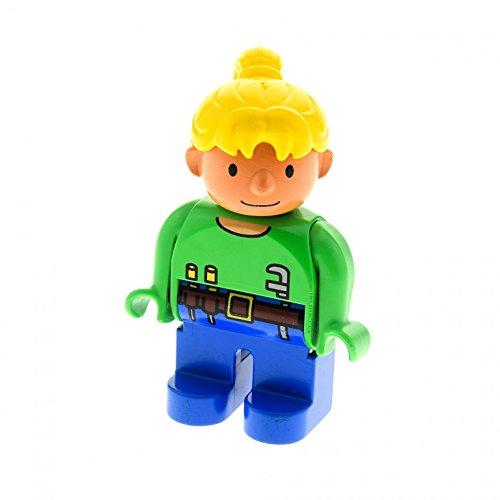 1-x-bob-der-baumeister-figur-wendy-grun-blau-mit-werkzeug-lego-duplo-4555-a57