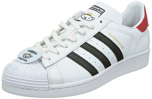 adidas Originals Superstar Nigo Bearfoot Schuhe Sneaker Turnschuhe Wei