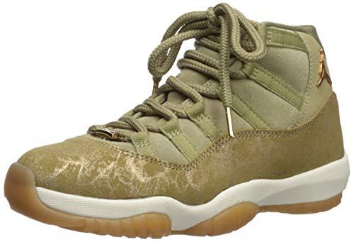 Nike Damen WMNS Air Jordan 11 Retro Fitnessschuhe, Mehrfarbig (Neutral Olive/MTLC Stout/Sail 200), 40 EU (Jordan 11 Retro-schuhe Für Frauen)