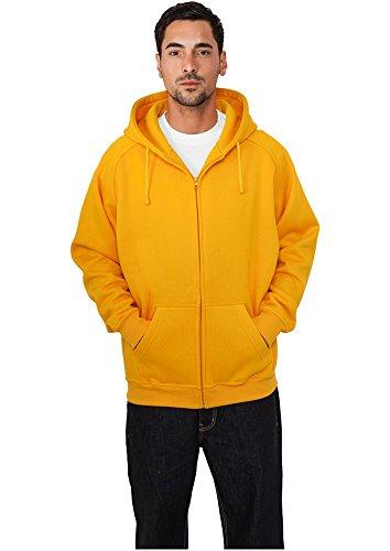 Urban Classics Zip Hoody, Felpa Uomo Arancione