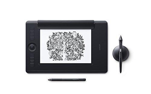 Wacom PTH-660P-N Intuos Pro Paper M Grafik-Tablet und Stift, DE/EN/PL/SE-Sprachversion, schwarz