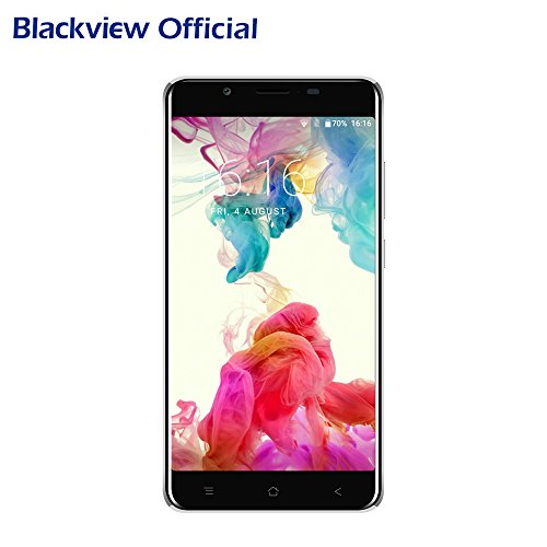 Blackview P2 Lite - 6000mAh Moviles Libres Baratos - Android 7.0 Dual SIM 5.5 pulgadas FHD - Octa Core 3GB RAM 32GB ROM - 13MP Cámara Smartphone libre - negro