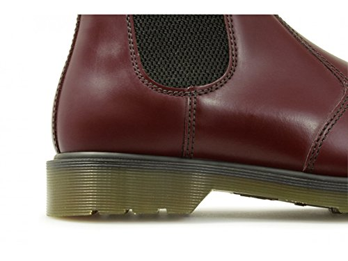 Dr. Martens Adult CLASSIC GUSSET DM BOOT Cherry Red