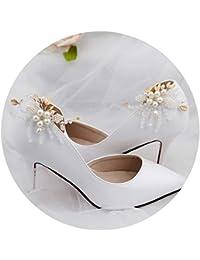 Für Frauen Mädchen Braut Schuhe Schnalle 1 Stücke Mode Strass Schuhe Schnalle Elegante Schuh Clips Für Schuh Dekorationen Schuhe