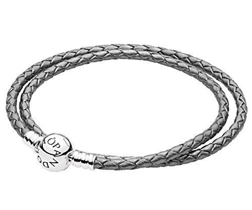Pandora bracciali di corda donna argento - 590745csg-d1