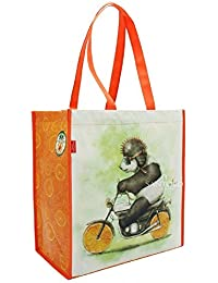 Santoro Fruity Scooty Panda Shopper Bag