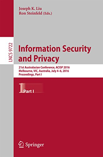 information-security-and-privacy-21st-australasian-conference-acisp-2016-melbourne-vic-australia-jul